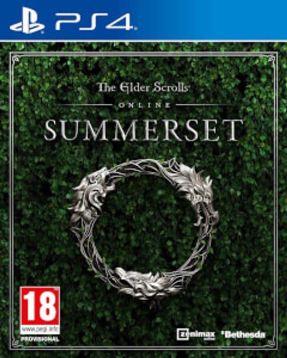 PS4 the Elder Scrolls Online: Summerset - £6.49 at Zavvi