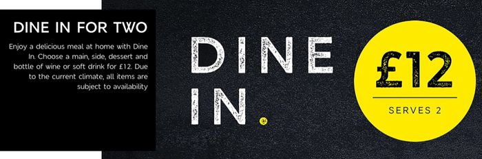 M&S Dine in for 2 - £12
