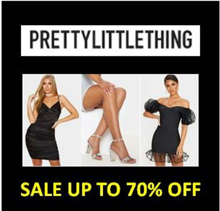PRETTY LITTLE THING SALE - up to 70% Off
