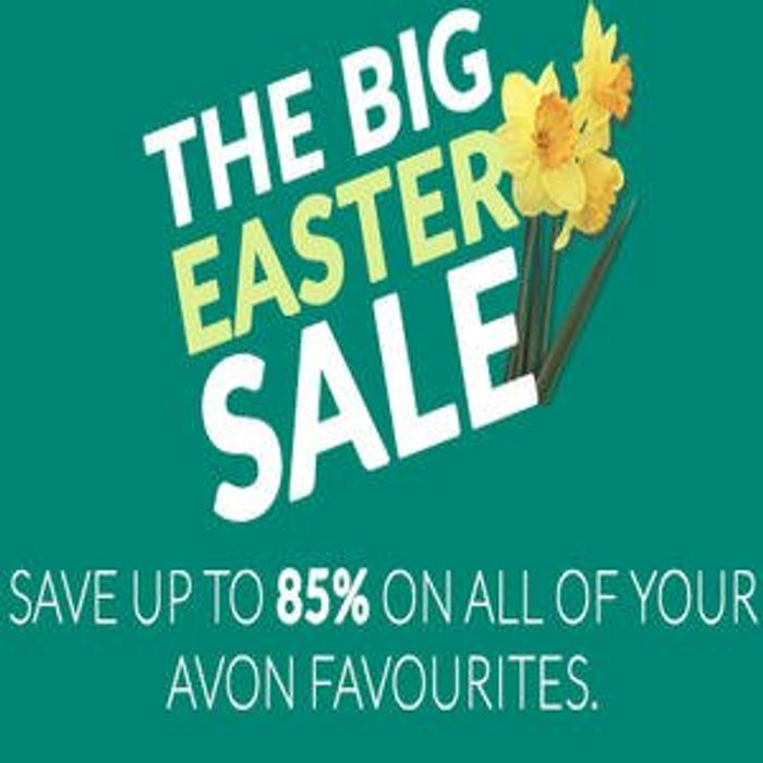 Save up to 85% of Avon Favourites in Their Big Easter Sale