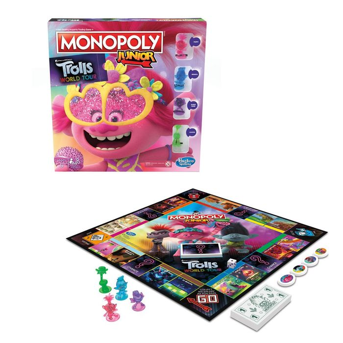 Monopoly Junior DreamWorks Trolls World Tour Only £22