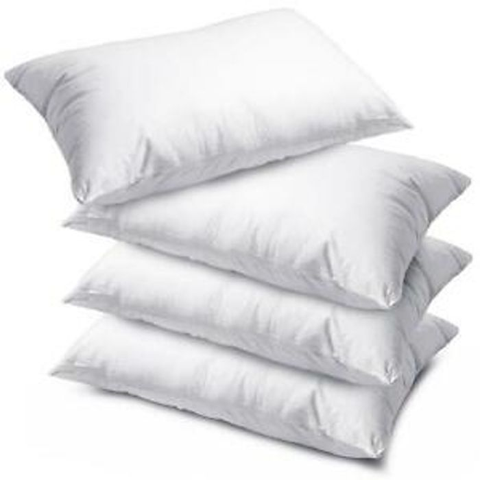 4 Luxury Bounce Back Pillows £12.49 Delivered