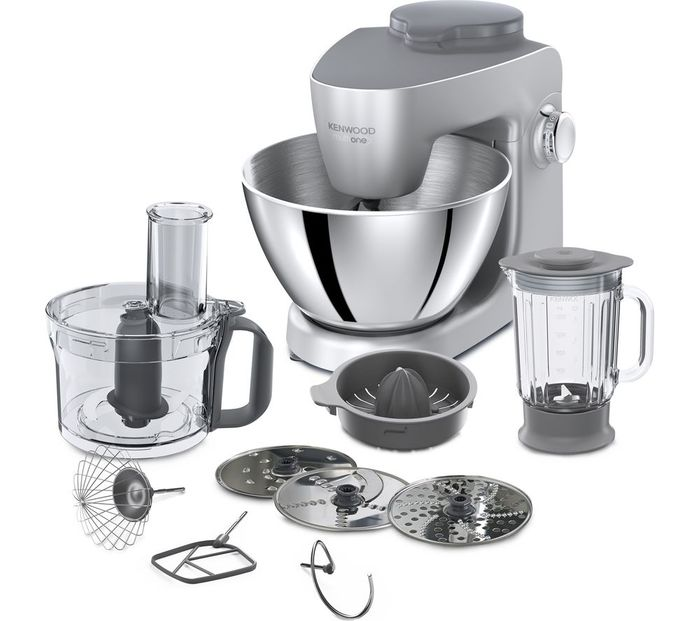 *HALF PRICE* KENWOOD Multione Stand Mixer - Silver Includes 7 Accessories