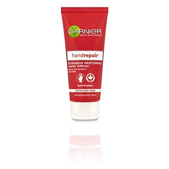 Garnier Hand Cream Moisturiser Intense Repair and Restoring for Dry Skin Only £2