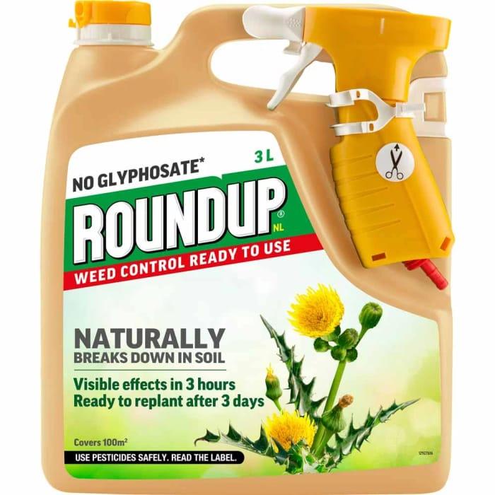 Roundup Naturals Weedkiller 3L
