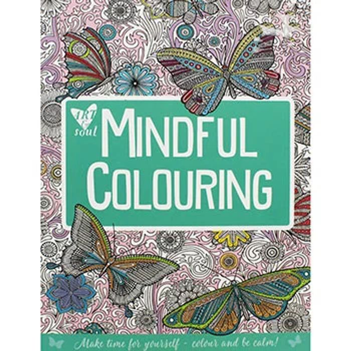 Cheap Art and Soul Mindful Colouring - Only £4!