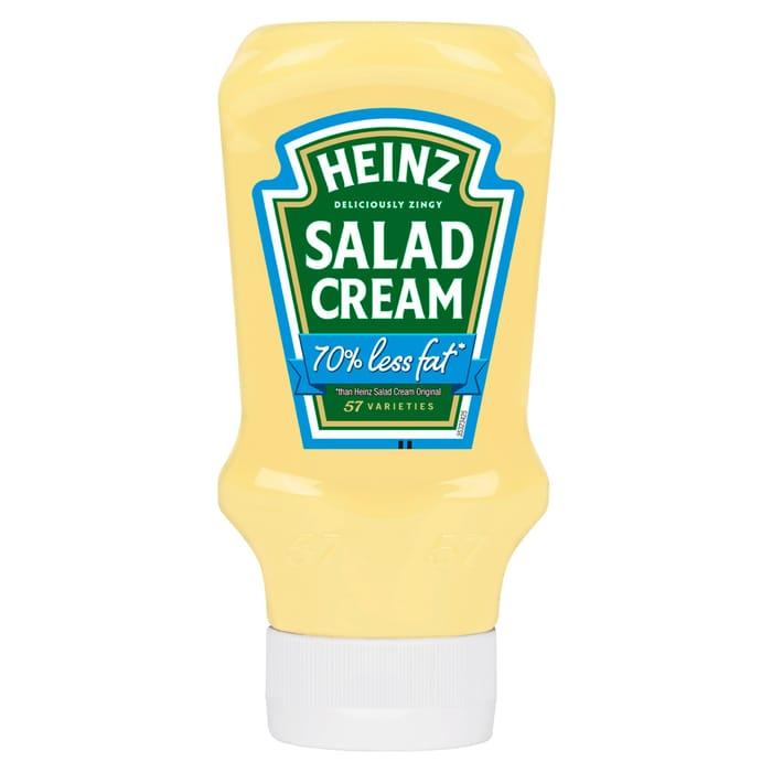 Heinz Salad Cream 70% Less Fat 435G