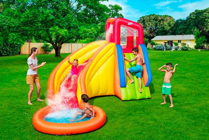 Splash Tower Giant Inflatable Waterpark - Ages 5-10! (P&P £19.99)