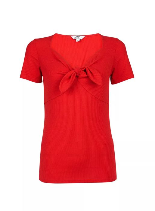 Tall Red Bow T-Shirt