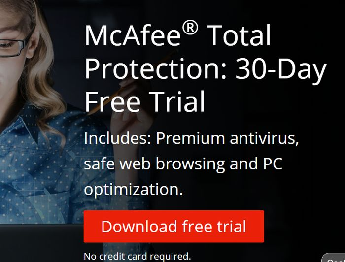 Get Your McAfee Total Protection: 30-Day Free Trial