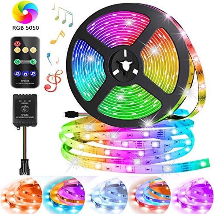 Save 60%- Light Strips Colour Changing 16.4ft/5m