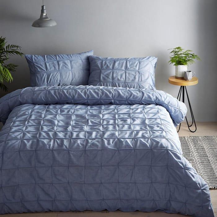 Debenhams-Blue 'Solberg' Bedding Set