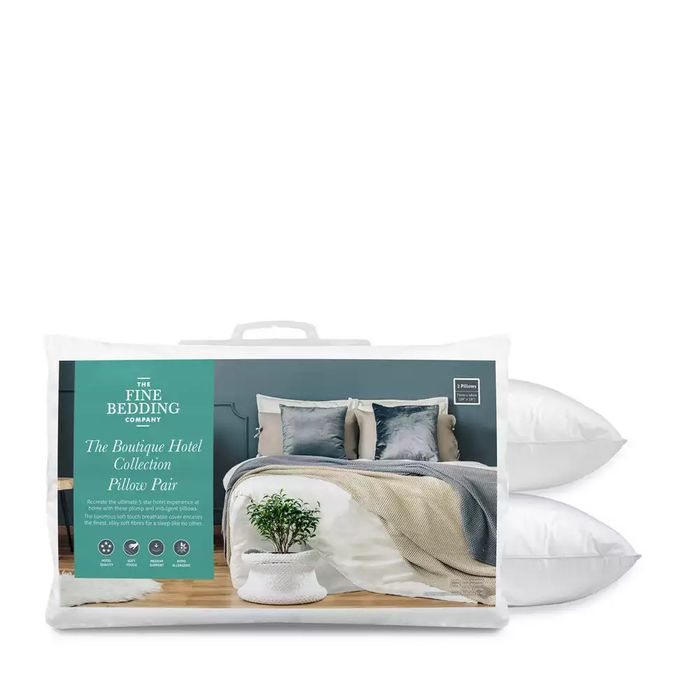 Best Price! Fine Bedding Company-White 'Boutique Hotel Collection' Pillow Pair