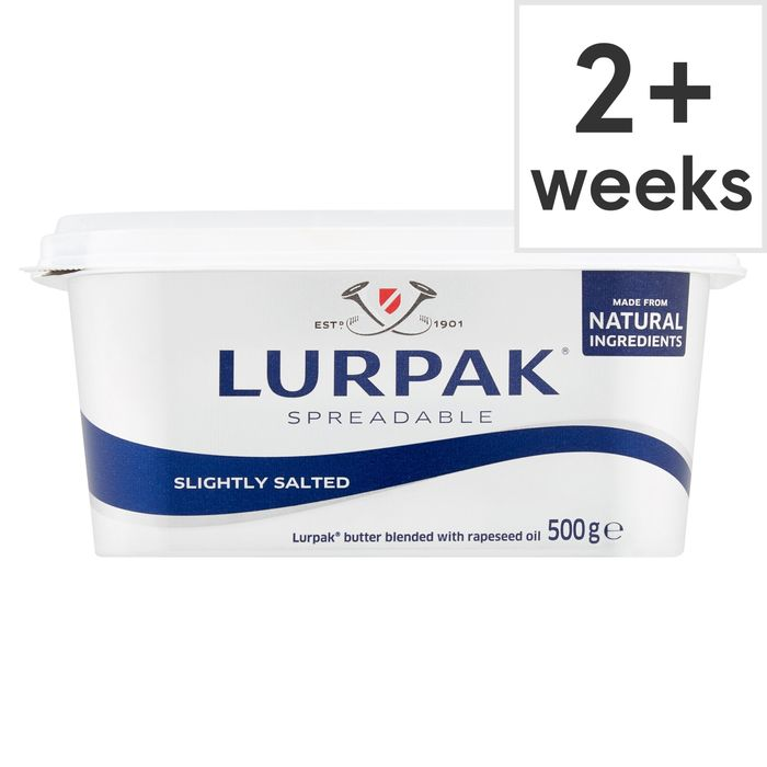 Lurpak Slightly Salted Spreadable 500G