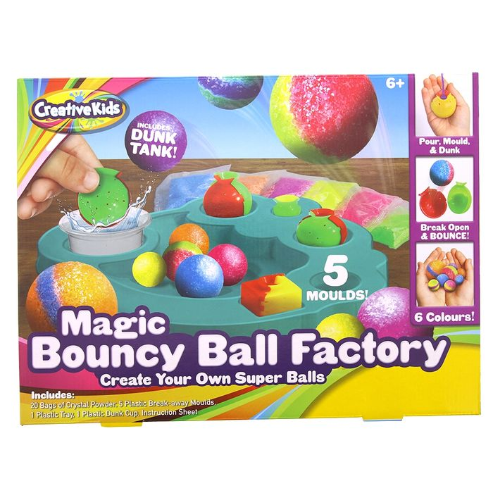 Magic Bouncy Ball Factory - Save £3