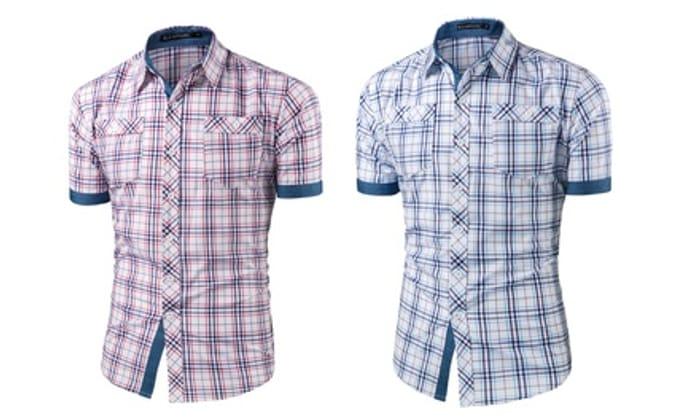 Men's Rupert Checked Shirt - Save £14.8