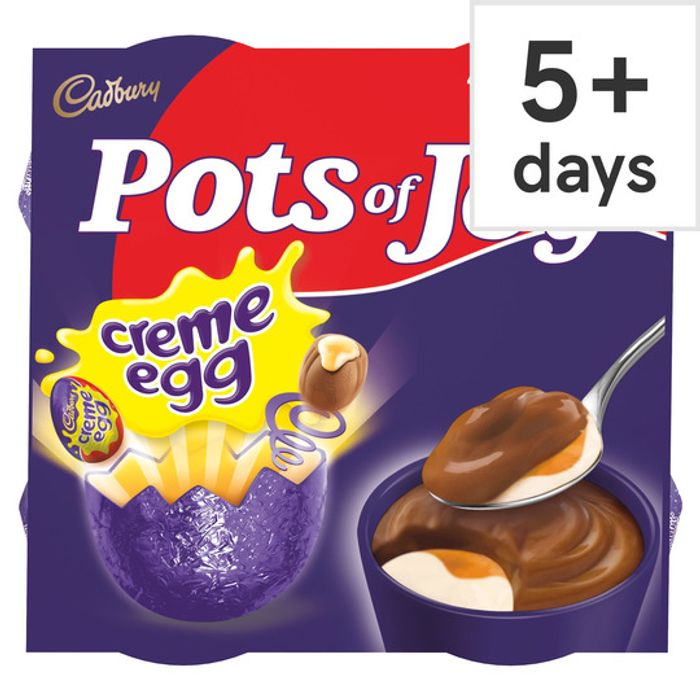 Cadbury Creme Egg Pots of Joy 260G (4X65g) at Tesco