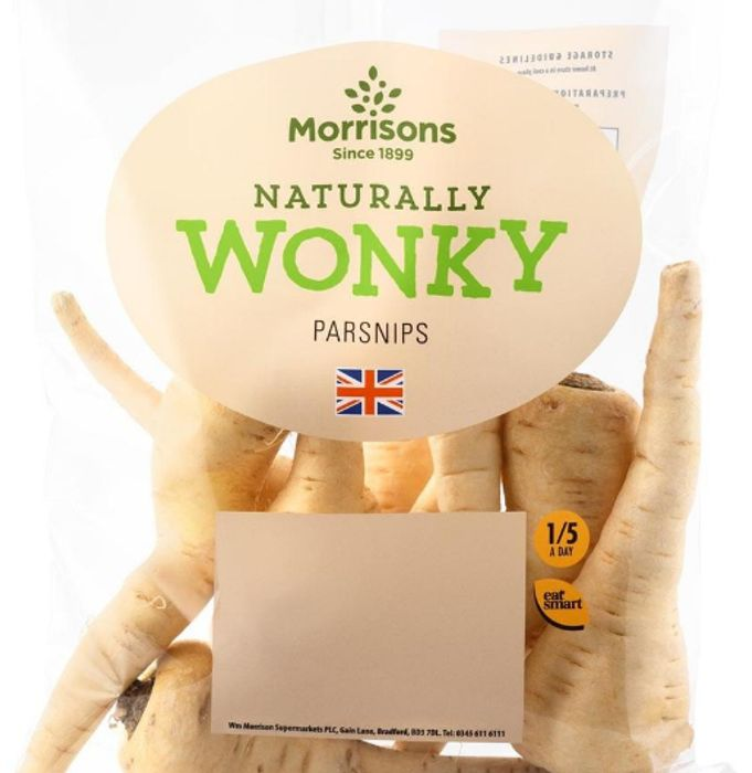 CHEAP! Morrisons Wonky Parsnips 500g - Just 15p