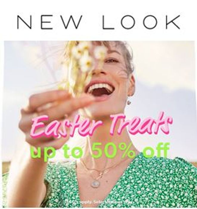 CHEAP - NEW LOOK, up to 50% off Dresses, Tops, Jeans, Trousers, Footwear...
