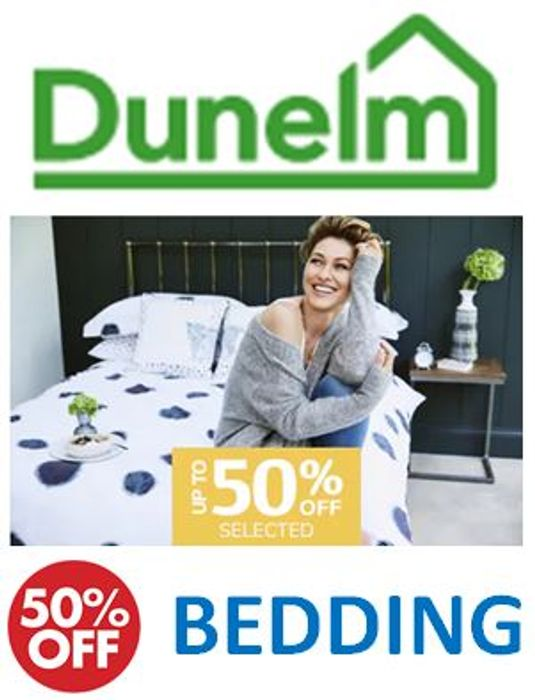 Special Offer! Half Price Bedding at Dunelm NOW!