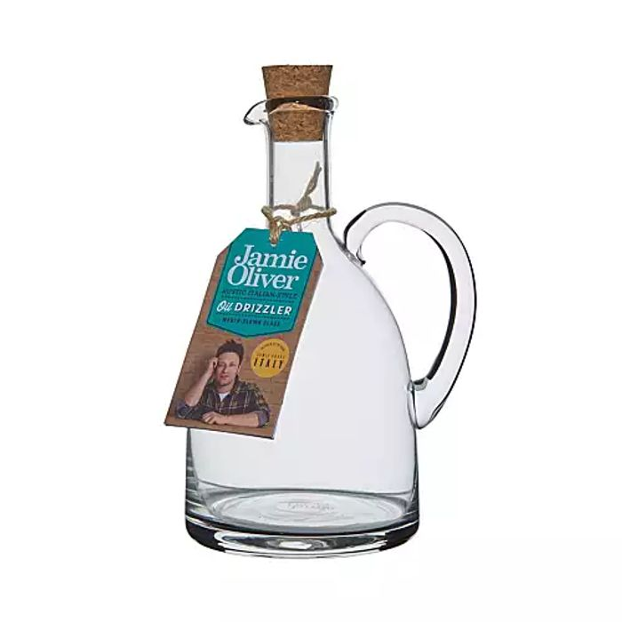 Jamie Oliver-Glass Oil Drizzler