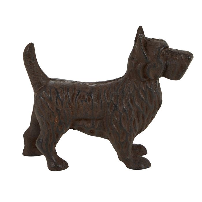 Cast Iron Westie Dog Ornament