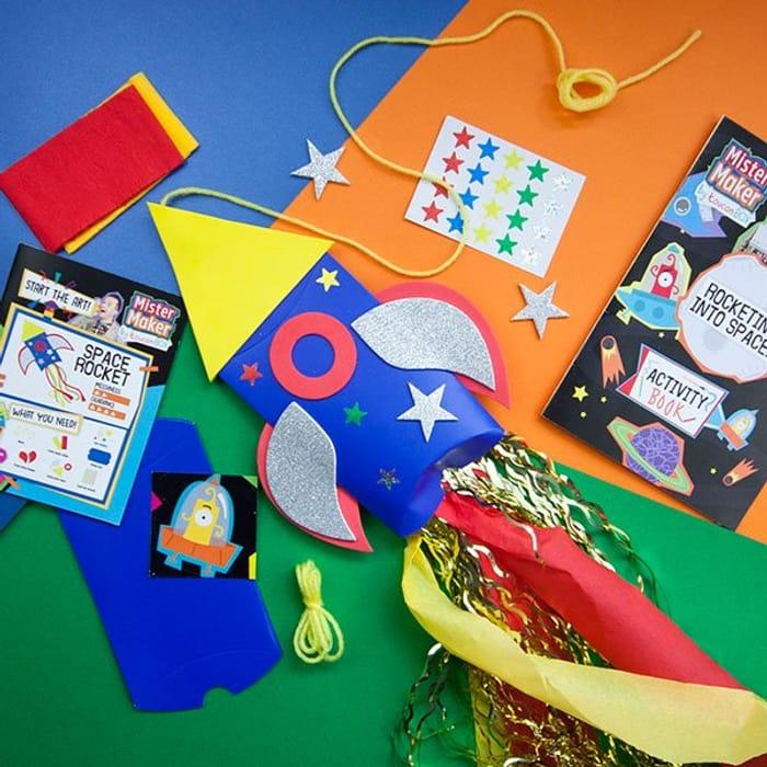 Free Childrens Mister Maker Crafts Box.