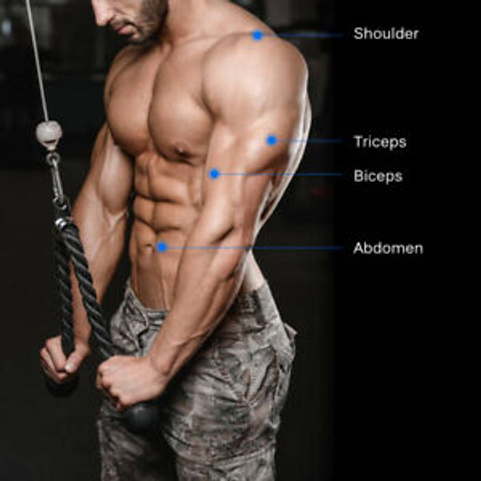 Training Pull down Rope Non Slip Cable Attachment E3H7