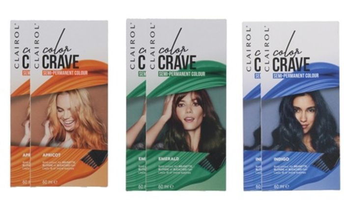 Two-Pack of Clairol Color Crave Semi-Permanent Hair Colour