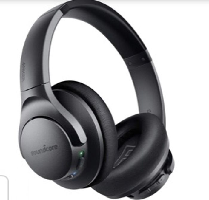 Cheap Soundcore Life Bluetooth Headphones, Active Noise Cancellation Only £39.99