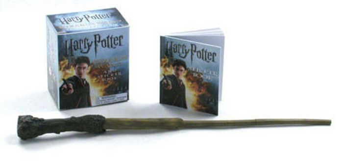 Cheap Harry Potter Wand and Sticker Book - Only £3.48!