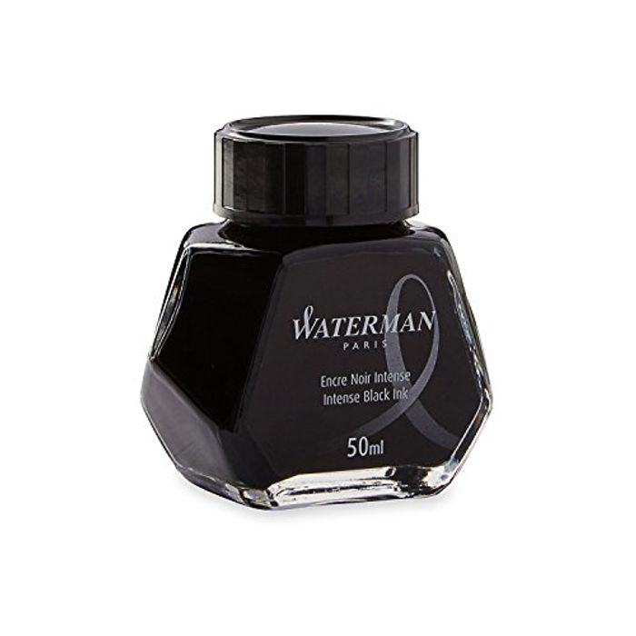 Best Price! Waterman Fountain Pen Ink, Intense Black, 50 Ml Bottle
