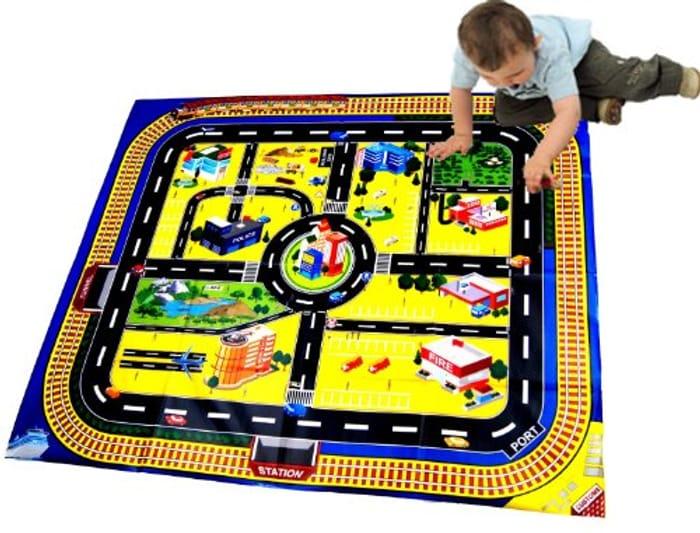 Kids Giant City Playmat For £2.79 delivered