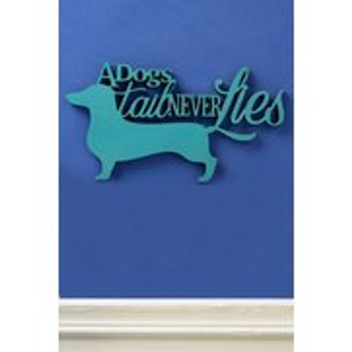A Dogs Tail Sign