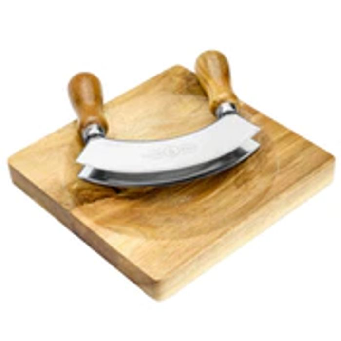 Hachoir Herb Cutter & Chopping Board