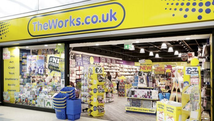 20% off Everything with No Minimum Spend at the Works