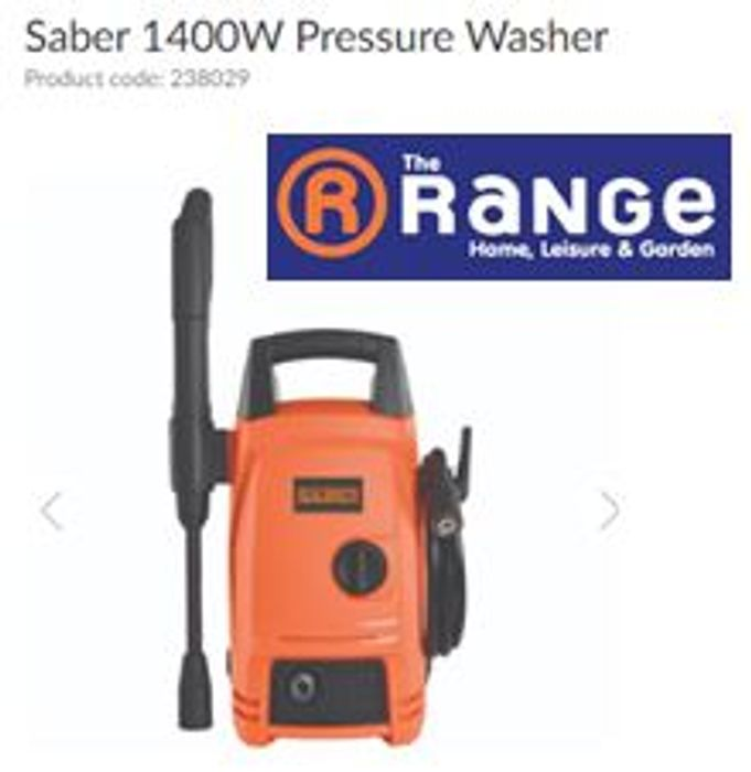 Cheap Price Saber Pressure Washer 1400W at The Range
