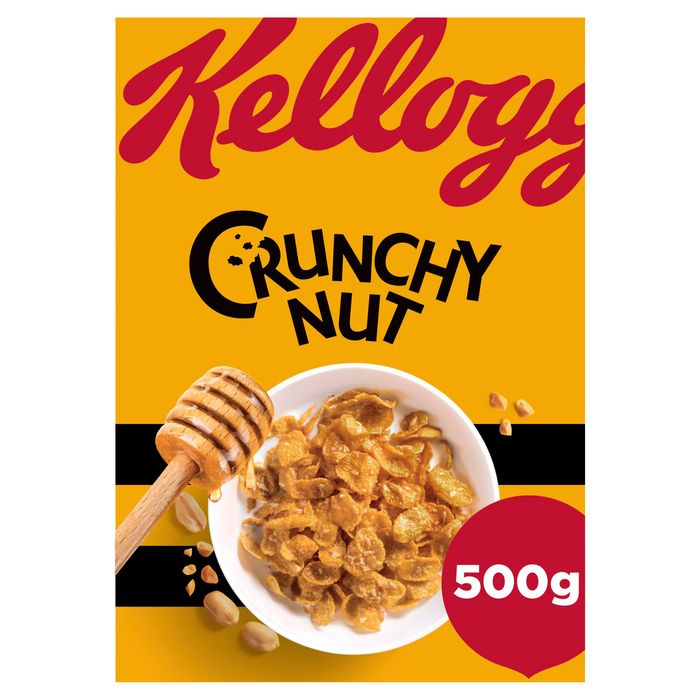 Kellogg's Crunchy Nut 500G at Tesco - Only £2!