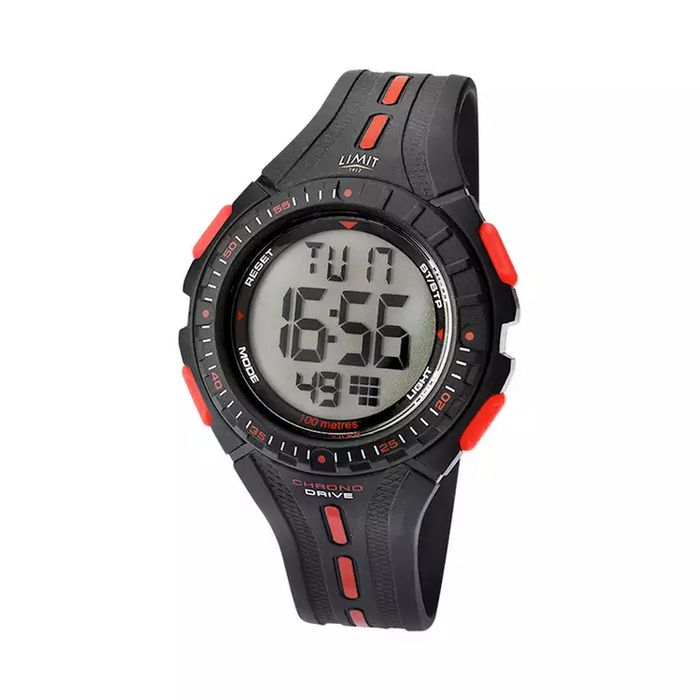 Limit - Digital Black Strap Watch 5391.56