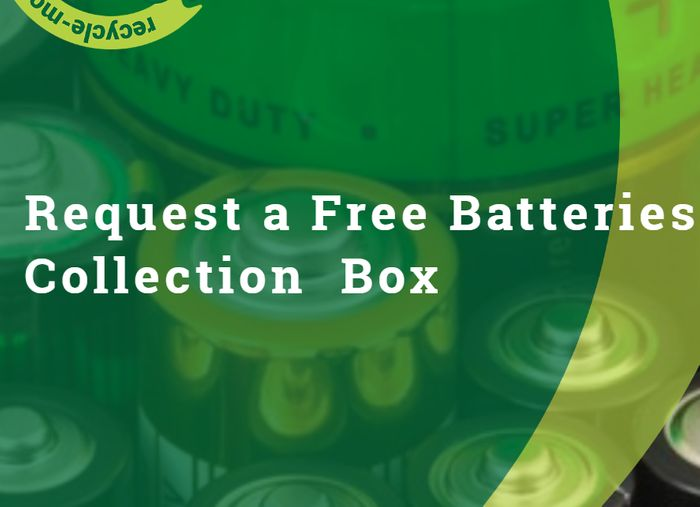 Valpaks FREE Battery Collection Box For Your Business Or Organisation