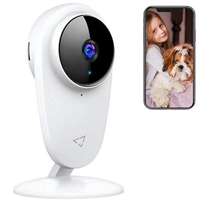 Victure Baby Monitor Pet WiFi Camera 1080P 2.4Ghz with Night Vision