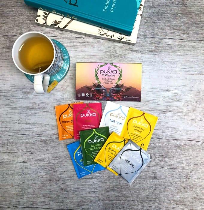 Free Pukka Tea Welcome Pack.