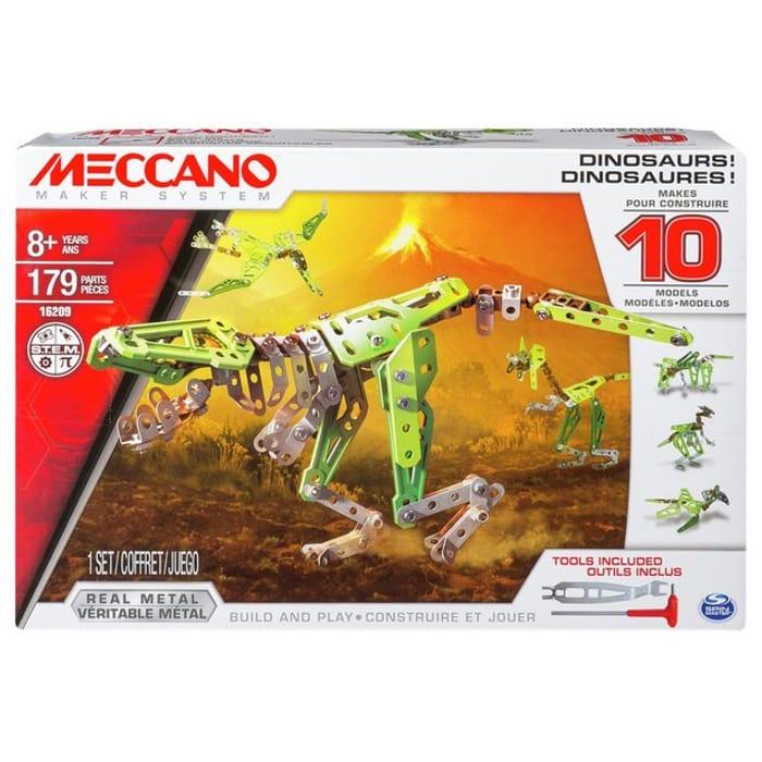 Meccano 10-in-1 Model Set