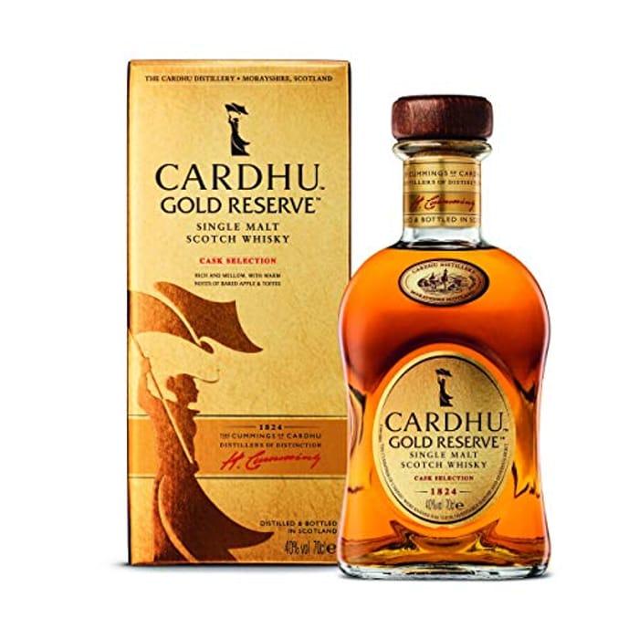 Cardhu Gold Reserve Single Malt Scotch Whisky 70cl with Gift Box