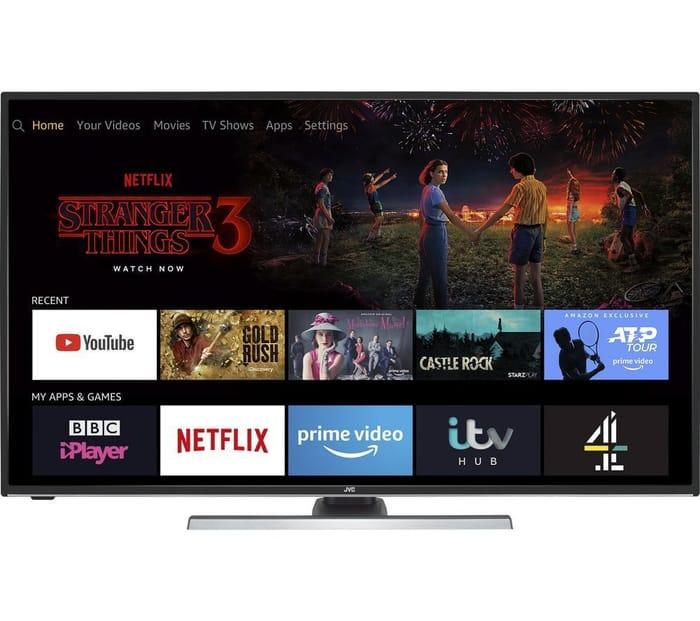 "BARGAIN Smart 4K JVC TV'S With Alexa - 40"" £249, 49"" £299"