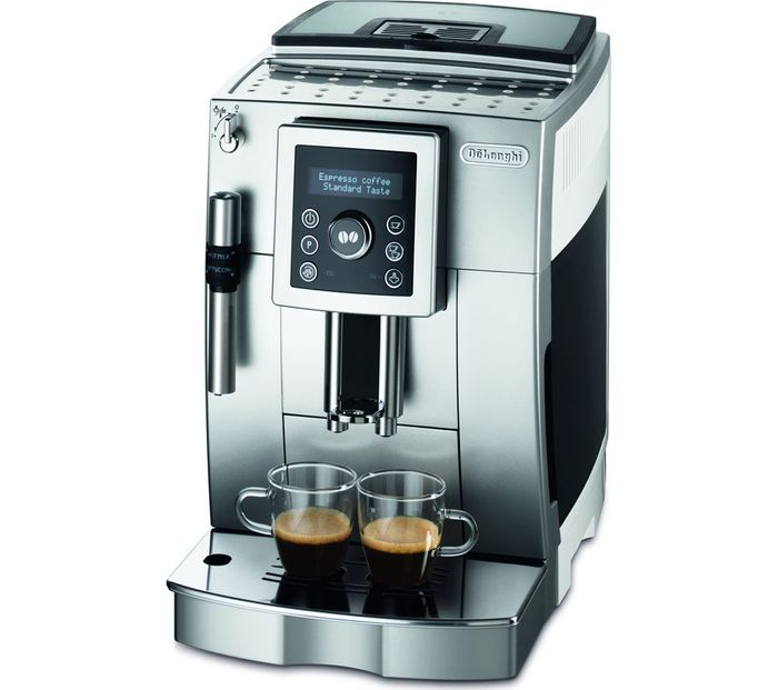 Cheap DELONGHI Bean to Cup Coffee Machine - Silver, Black & White-Only £299!