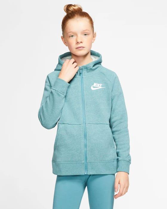 Girls' Full-Zip Hoodie Nike Sportswear Only £16.78
