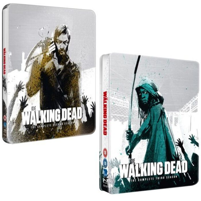 The Walking Dead: Limited Edition Steelbook Blu Ray - Season 2 or 3