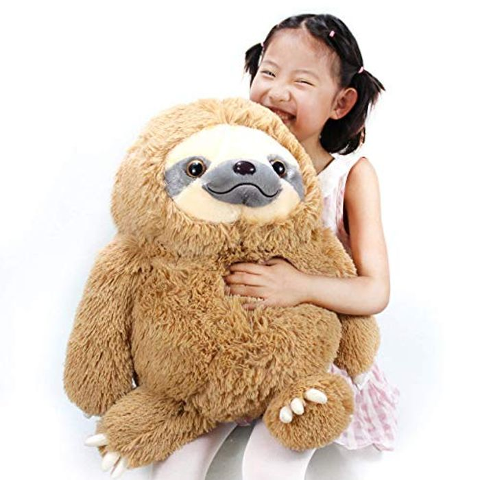 Winsterch Cuddly Sloth Soft Toy Large Stuffed Animal Sloth