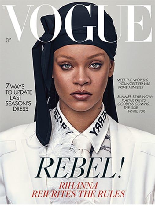 Free Copy of Vogue Magazine.